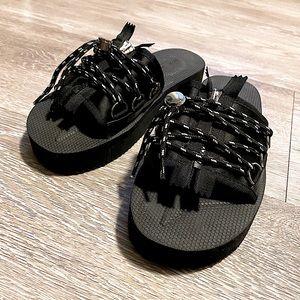 ASOS Shoes (NWOT) Slides Sandals - Platform - Sz 9